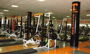 UT Football Weight Room (UT Sports)